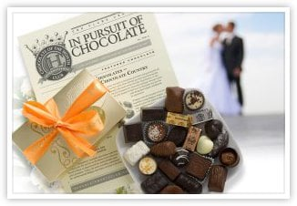 Wedding Chocolate Gift