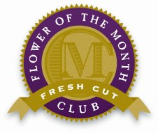 The Fresh-Cut Flower of the Month Club logo