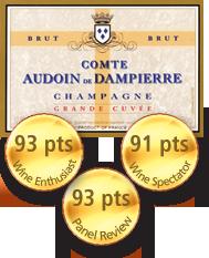 Comte Audoin de Dampierre Grande Cuvée Brut Champagne