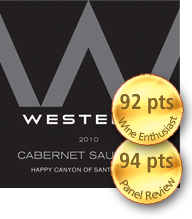 Westerly Happy Canyon Santa Barbara Cabernet Sauvignon 2010