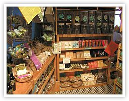 Some of Zingerman's Many Amazing Food Shelves